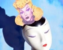 RPDR Violet Chachki Pop Art Fascinator