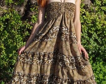 Bohemian Skirt Gypsy Skirt Womens Dresses Festival Outfit Faerie Clothing Hippie Skirt Ethnic Dress Boho Dress Vintage Dress Long Skirt