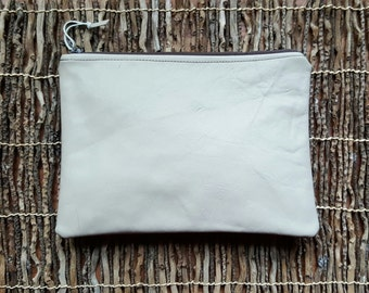 His Toiletry Case / Her Cosmetic Case / Kindle Case / eReader Case in Sand Stone