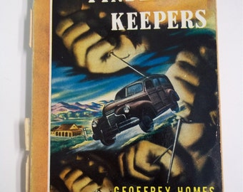 Finders Keepers by Geoffrey Homes Bantam Books #89 1947 Vintage Mystery Paperback