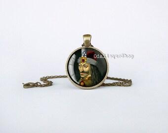 Vlad the Impaler Pendant Count Dracula Necklace Transylvania Jewelry cb242