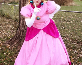 Princess Peach Cosplay Dress