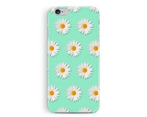 Daisy iPhone Case, daisy iPhone cover, flower cell cover, floral iphone ase, shabby chic iphone case, cute daisies, girly gift