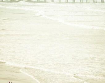 Romantic Walk on the Beach Photography Print