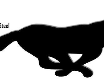 Fox Black Laser Cut Out Sign 23x9 RG8165B