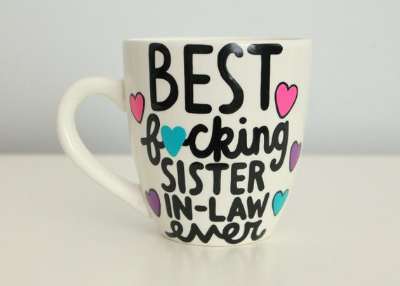 Wedding Gift Ideas For Sister In Law: Sister In Law Gift Sister In Law Mug Sister In Law Sister