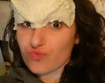 Greta Gremlin latex forehead prosthetic