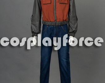 Back to the Future Marty McFly Cosplay Costume mp002895