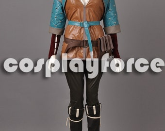 The Witcher 3:Wild Hunt Triss Merigold Cosplay Costume mp003001