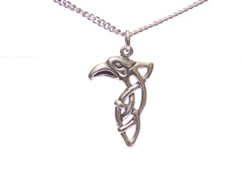 Eagle necklace, necklaces, celtic eagle necklace, birthday gift, celtic necklace, silver necklace, stainless steel necklace
