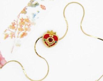 Cosmic Heart Sailor moon necklace or pandora bead
