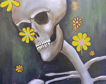 Dance. Original Acrylic on Canvas