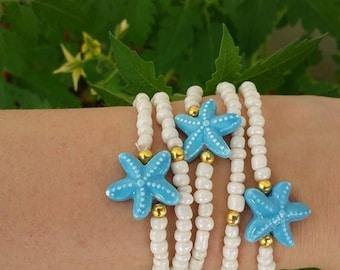 beach Girl Bracelet - Toddler Gift - baby girl bracelet - Girls Jewelry - Little Girl Jewelry - Girls Bracelets - baby girl bracelets - boho