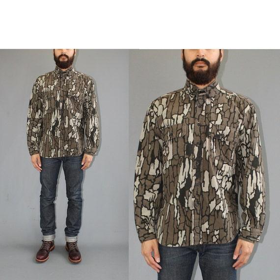 Five brothers camo chamois flannel shirt trebark camo for Realtree camo flannel shirt