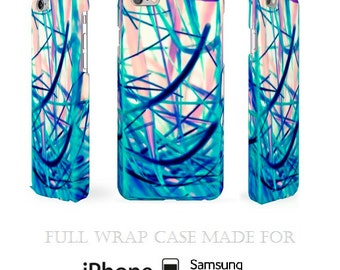 Bipolar iPhone Case Crazy Samsung Galaxy Cover Blueish iPod Case iPhone 4 4S 5 5S 5C 6 6S Plus Samsung S3 S4 S5 S6 Edge Galaxy Note 2 3 4 5