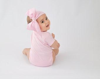 Baby Head Wrap, Baby Headwrap, Light Pink Baby Headband, Baby Turban, Toddler HeadWrap, Girls Headwrap Turban, Light Pink Head wrap, 2244