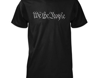 We The People Shirt - United States Constitution Preamble