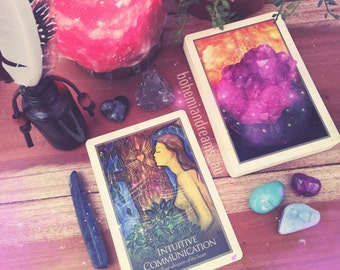One card oracle reading