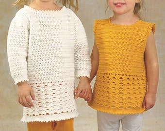 Instant Download - PDF- Lovely Tunic and Top Crochet Pattern (CC19)
