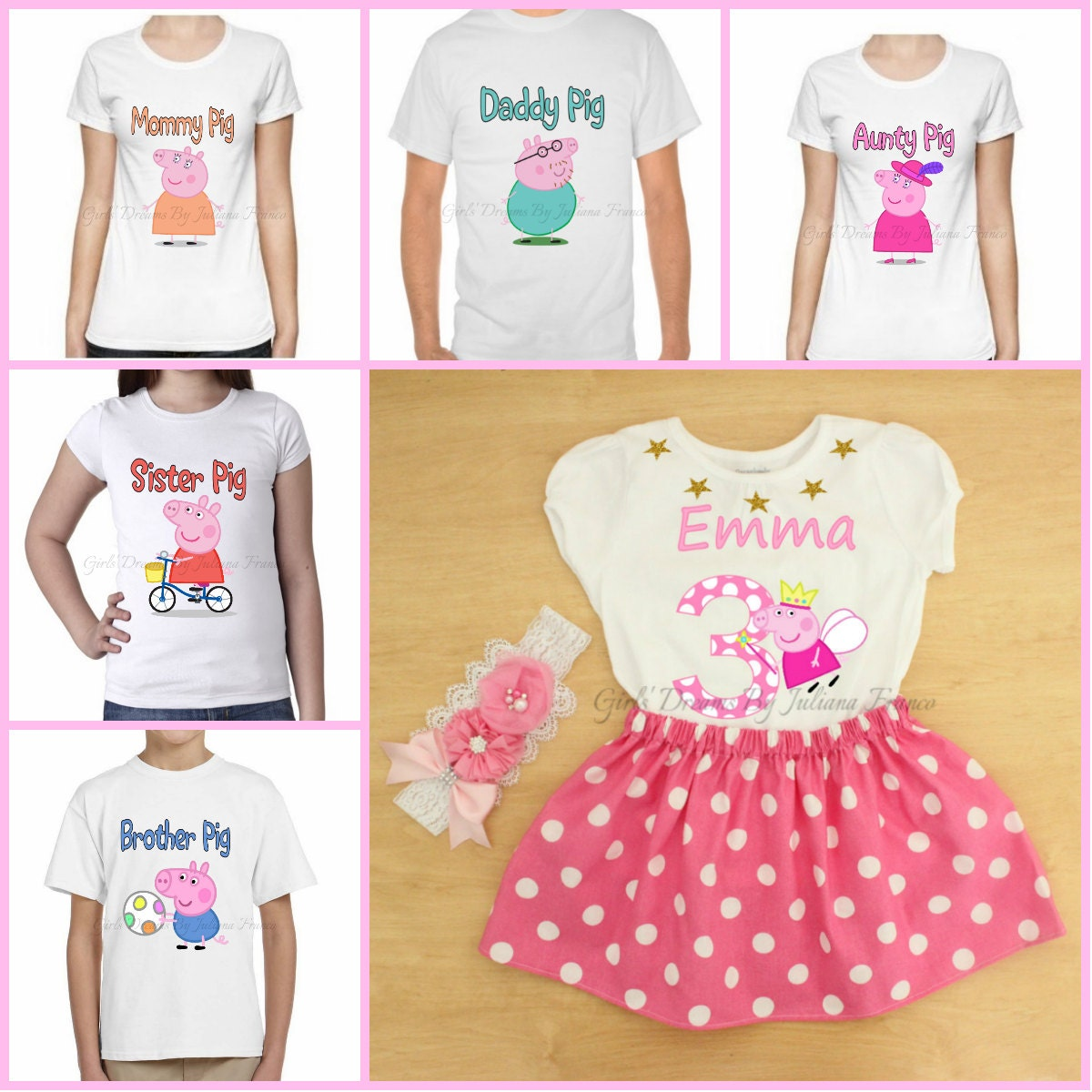 Pig clothing store
