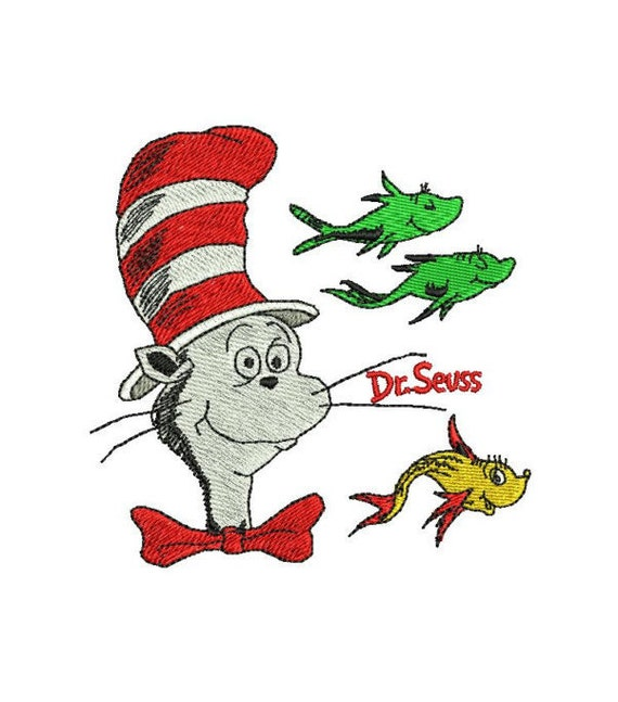 One fish two fish dr seuss cat in the hat by for Cat in the hat fish
