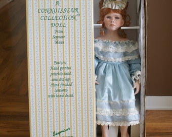 Vintage Artistic Doll porcelain collection original design Seymour Mann Doll 22 Inch tall Doll Connisseur Doll Collection