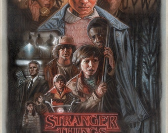 Stranger Things 11x17 poster