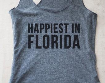 Happiest in Florida Tank