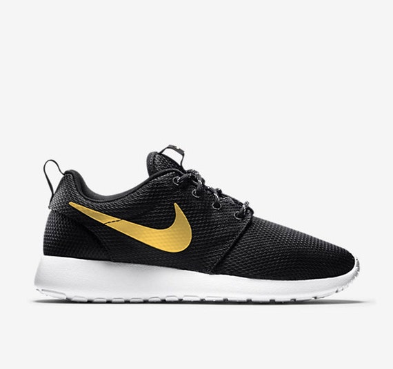 Nike Roshe Run Gold Swoosh Women's Men's Kid's