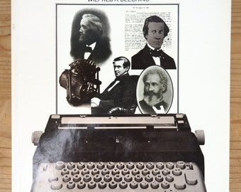 vintage book - century of the typewriter - Wifred A. Beecking