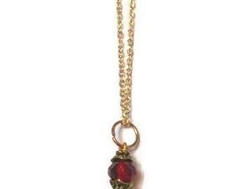 Gold Key Necklace, Key Pendant, Key Necklace, Gold Pendant, Gold Pendant Necklace, Gold Necklace, Vintage Key Necklace, Vintage Necklace