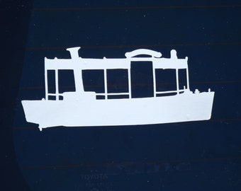 Disneyland Jungle Cruise Boat Decal for Cars, Laptops - Free Shipping