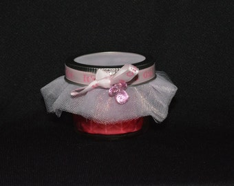 Pink 'It's A Girl' Baby Shower Favors