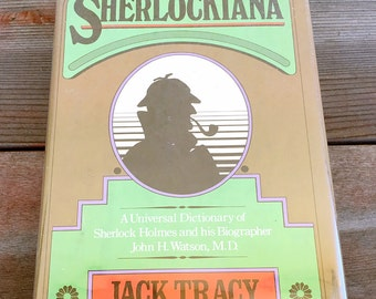 The Encyclopedia Sherlockiana by Jack Tracy Hardcover 1977