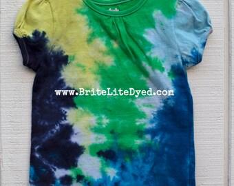 Tie Dye Children's T Shirt 4T-Tie Dye Clothing-Children's-Pants-Toddler Clothing-Hippy Children-Hippie-Hipster-Boho-Summer-Tiedye-Girl