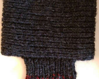 Knitted Thick Wool Cowl