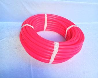 100' 5/8 UV Magenta Polypro Coil - 10ft, 50ft, 100ft Coil -Black Light Reactive- Hula Hoop Supplies