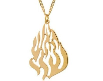 "Judaica Kabbalah, RABBI NACHMAN NECKLACE, Jewish Kabbalah, Kabbalah Jewelry, Holy land jewelry, Jewish Jewelry, ""My Fire"" Kabbalah Necklace"