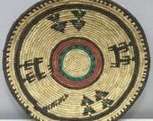 Basket  Plate Hansa Nigeria Africa Woven Handmade Grass Bowl Household Plate Hand Woven Plate Basket Unique B20