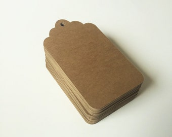 "Rustic Gift Tags (2"" wide) - Blank Favor Tags"