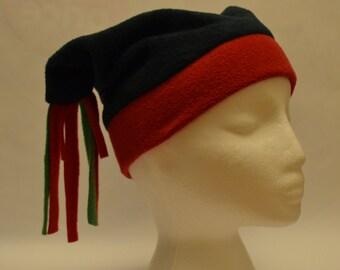 Handmade fleece adults hat, long tassels, super cute and warm!!!