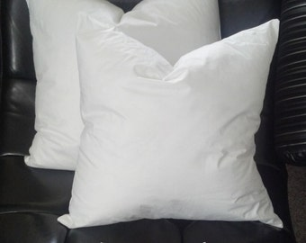 featherdown square pillow insert 16 x 16 inch square feather