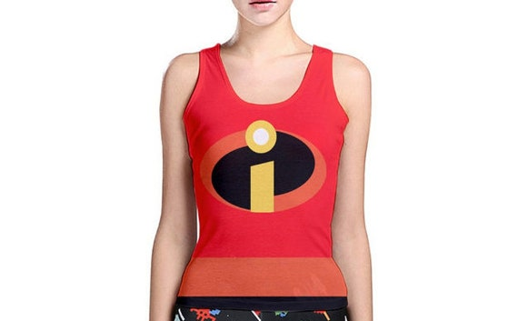 READY-to-SHIP LARGE Women's Mrs. Incredible Inspired Tank - photo#33