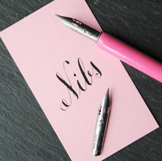 Brause Rose Calligraphy Nib Set Of 2 Calligraphy Kit