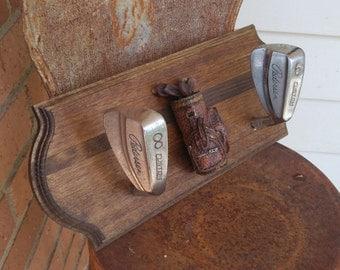Golf Club Hat Rack!