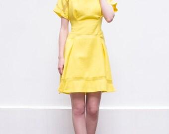 Yellow bridesmaid dress | Etsy