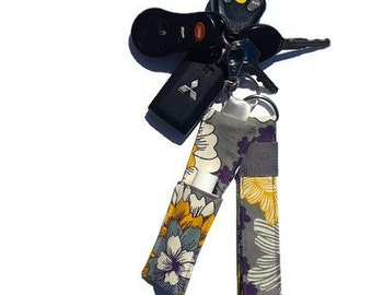 Fabric Keychain - Chapstick Holder - Key Fob - Lanyard - Keychain - Teacher Gift - Daycare Gift - Mothers Gift - Gift Set