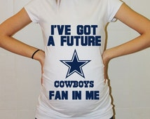 Dallas Cowboys Baby Dallas Cowboys Baby Boy Baby Girl Maternity Shirt Maternity Clothing Pregnancy New Baby Shower