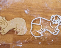 Ferret cookie cutter - Animal shaped cookie cutters