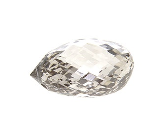 FREE SHIPPING Natural Diamond Loose Briolette Cut 3.19 ct IGI Certified Y Z Brown Fancy Color